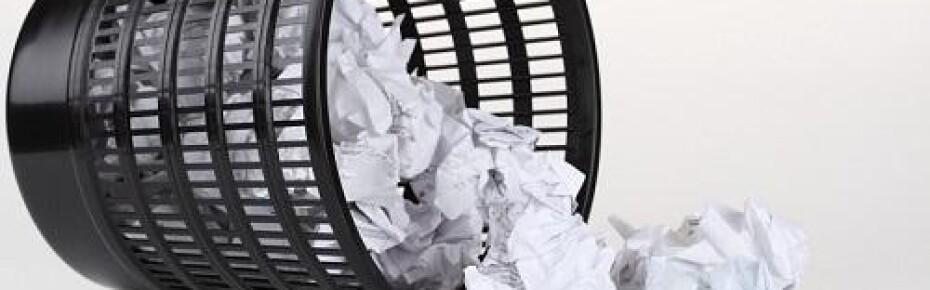 Паспорт отходов необходим даже для простой офисной урны