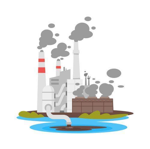 Воздействие промышленной площадки на атмосферный воздух